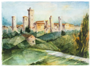 Paesaggi San Gimignano